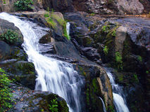 Cascade en parc national, Thaïlande photo stock