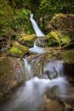 Cascade en rivière de Viescas photo stock