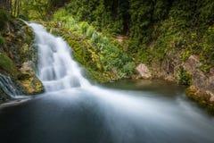 Cascade en rivière Palancia image stock