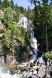 Cascade en vallée de Benasque photos stock