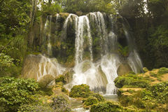 Cascade of the Escambray royalty free stock images