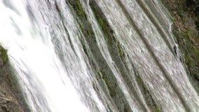 Cascade Escondida dans le Patagonia, Argentine banque de vidéos