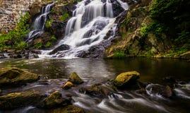 Cascade et cascades sur Antietam Creek près de la lecture, Pennsylva photographie stock