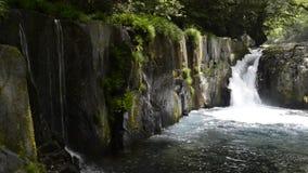 Cascade falling stock footage
