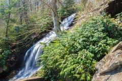Cascade Falls – Blue Ridge Parkway, USA Royalty Free Stock Photos