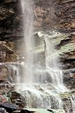 Cascade Falls Ouray, CO. A beautiful Colorado waterfall with its remaining winter ice Royalty Free Stock Photography