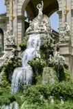 Cascade fountain of Parc de la Ciutadella Stock Photos