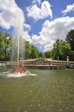 The cascade of fountains Stock Photo