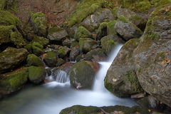 Cascade in the french pyrenees Stock Images