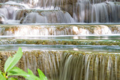 Cascade gentille en Thaïlande Image libre de droits