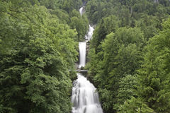 Cascade of Giessbach Falls Stock Photos