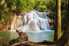 Cascade Huay Mae Kamin Images stock