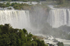 Cascade Iguacu Photo stock