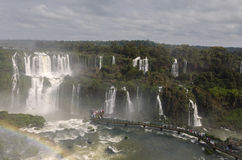 Cascade Iguacu Images libres de droits
