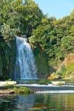 The cascade of Isola Liri-Frosinone Stock Photo