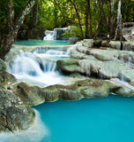 Beautiful Waterfall in the Jungle Royalty Free Stock Image