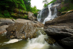 Cascade in the jungle Royalty Free Stock Images