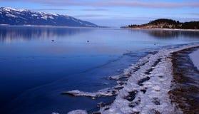 Free Cascade Lake Freezing Over Stock Images - 3898444