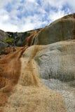 Cascade of Limestone Rock royalty free stock photos