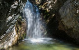 Cascade, montagnes Cyprs de Troodos Images stock