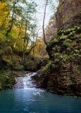Cascade mountain river Stock Images