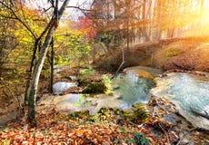 Cascade mountain river Stock Image