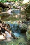 Cascade of mountain stream Royalty Free Stock Image