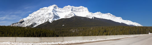 Cascade Mountains Banff National Park Stock Photos