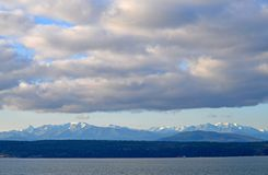 Cascade Mountains Royalty Free Stock Photos