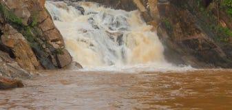Cascade naturelle de kdeliya Photos libres de droits