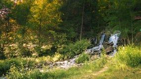 Cascade Norvège Michigan Photos libres de droits