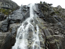 Cascade in norway Royalty Free Stock Photos
