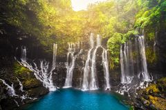 Free Cascade Of Grand Galet In Langevin Valley In La Reunion Island, France Stock Photos - 133885973