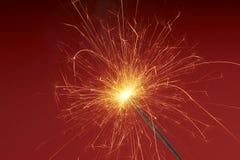 Cascade Of Sparks 2 Stock Photo