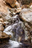 Cascade in Ourika-Valley. Near Setti Fatma in High Atlas mountains in Morocco Royalty Free Stock Photography