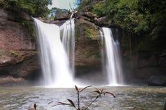Cascade, parc national de Khao Yai, Thaïlande Photos stock