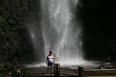 Cascade près de Batu Photographie stock libre de droits