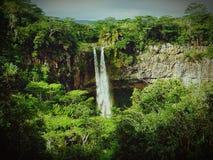 Cascade près de Chamarel Image stock