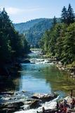 Cascade Probiy Photographie stock libre de droits