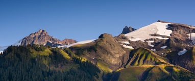Cascade Range Pacific Crest Trail Heliotrope Ridge Mt. Baker Royalty Free Stock Photos
