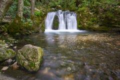 Cascade Roumanie de ressort de Bigar image libre de droits