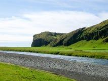 Cascade Skogafoss de l'Islande Photos stock