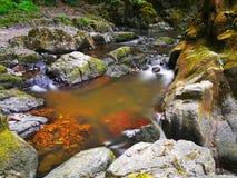 Cascade Skryje Images libres de droits