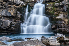 Cascade in a Spanish National Park Royalty Free Stock Photos