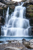 Cascade in a Spanish National Park Royalty Free Stock Image