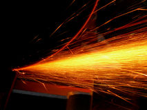 Cascade of sparks Royalty Free Stock Image