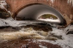 Cascade State Park is in Northern Minnesota near Lake Superior.  Royalty Free Stock Photos