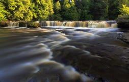 Cascade supérieure Aysgarth Photo libre de droits