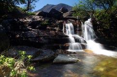 Cascade sur l'île d'Arran Ecosse Photos libres de droits