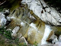 Cascade sur la rivière 2 de Latorita Photo libre de droits
